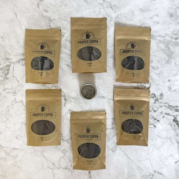 Proper Cuppa Tea Blending Kit Components