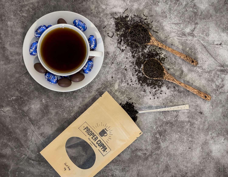 Earls Breakfast + Dark Chocolate