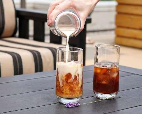 Easy Iced Tea + Iced Tea Latte Recipe