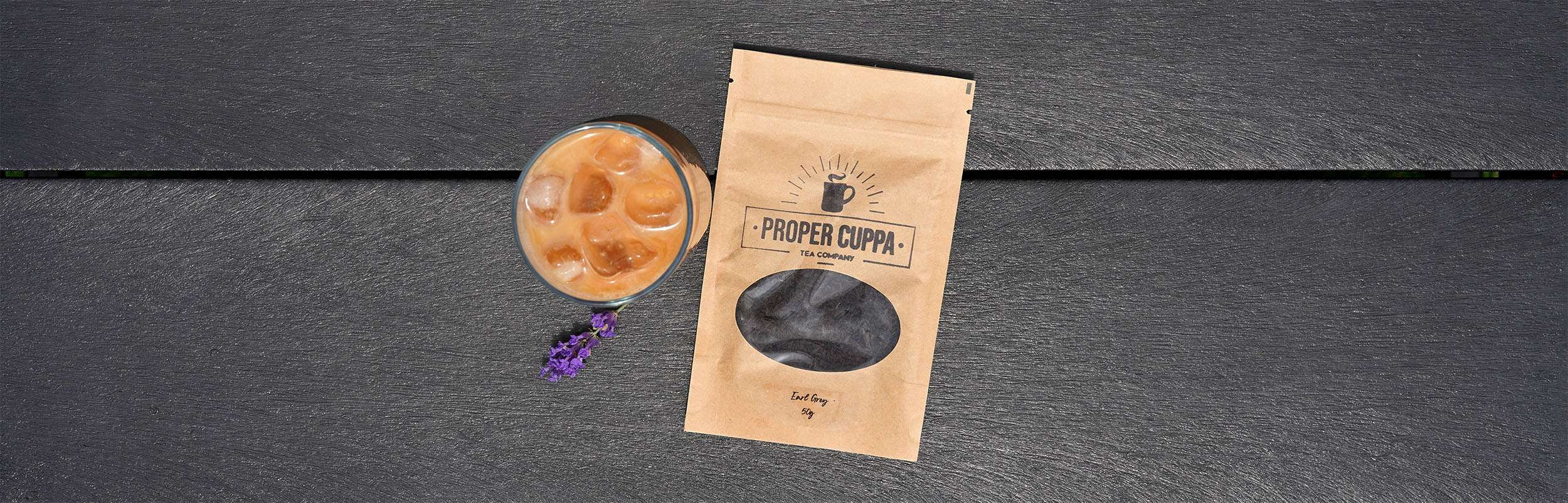 Proper Cuppa Iced Tea Latte