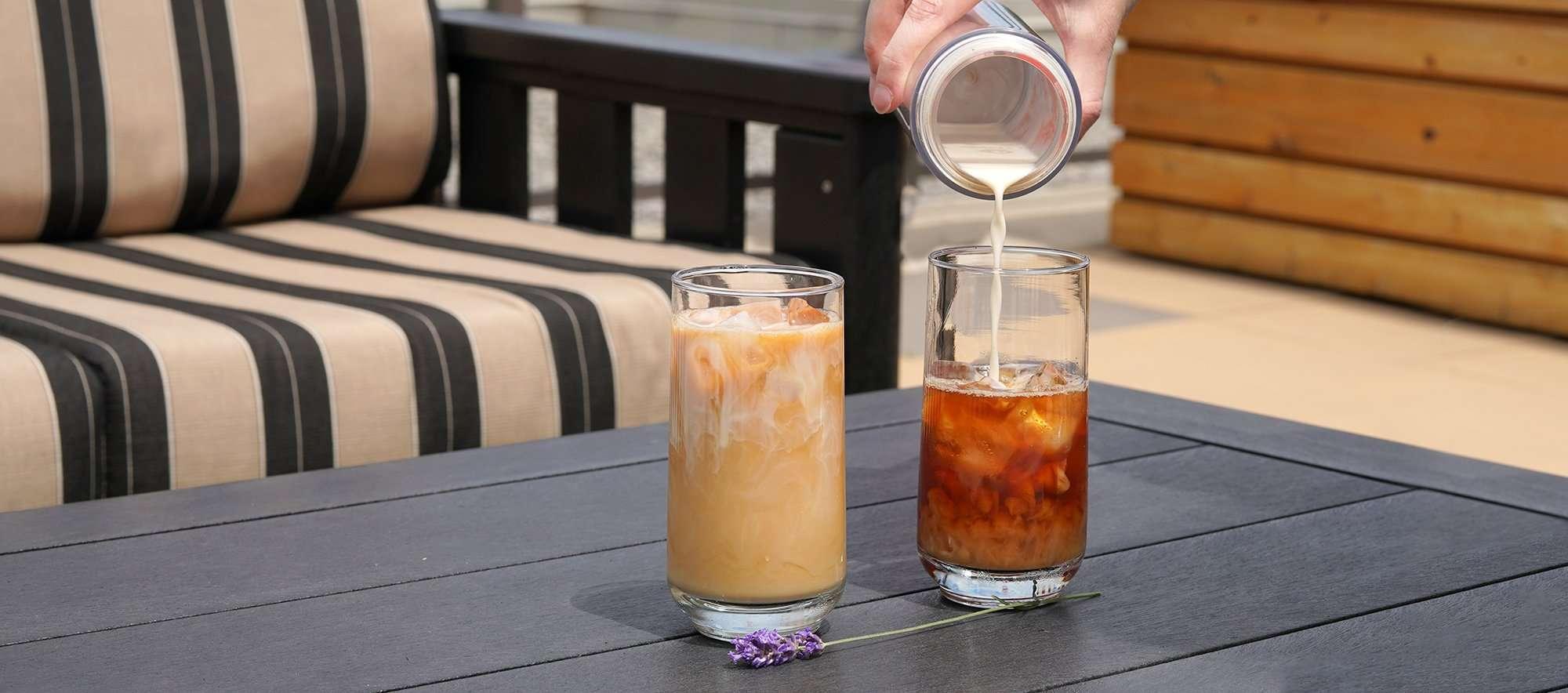 Proper Cuppa Lavender Earl Grey Vanilla Iced Tea Latte
